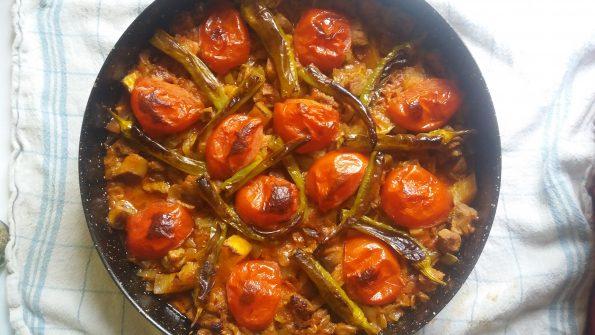kebab d'aubergine