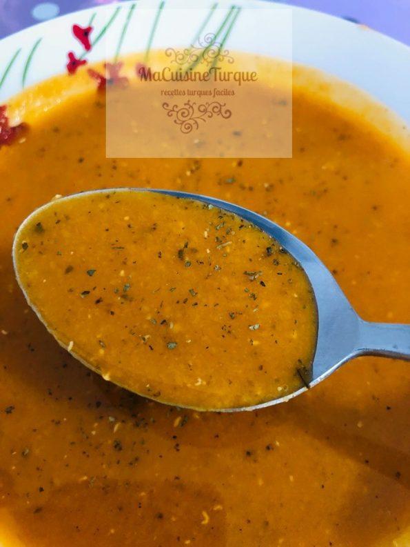 soupe aux lentilles corail
