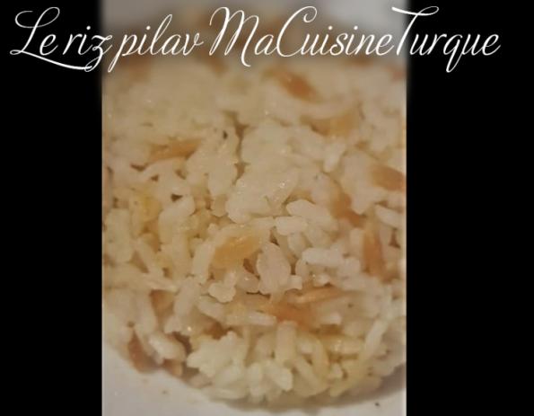 riz pilav