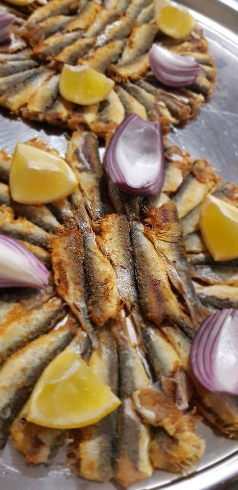 friture de sardines