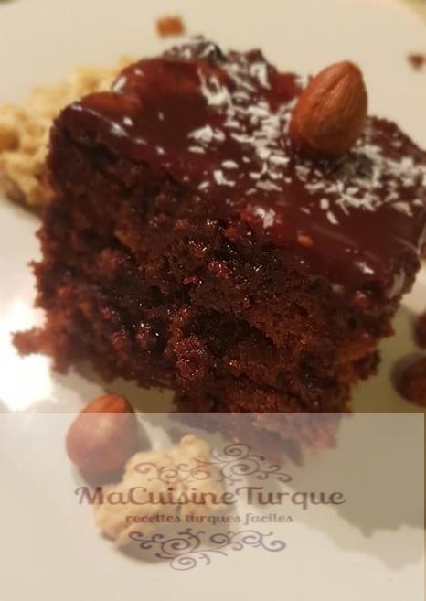 gâteau turc au chocolat