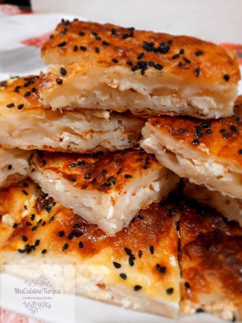 Bricks au poulet et pommes de terre