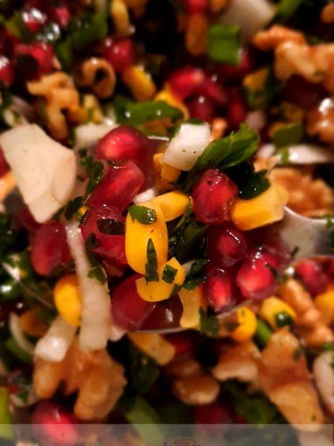 Une bonne salade de haricots blancs