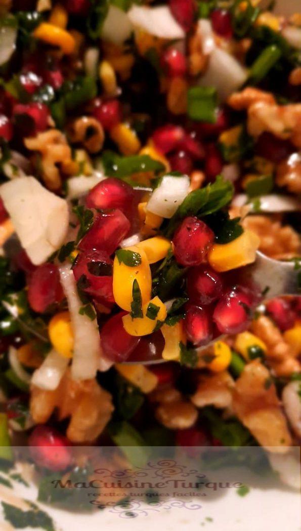 salade aux graines de grenade