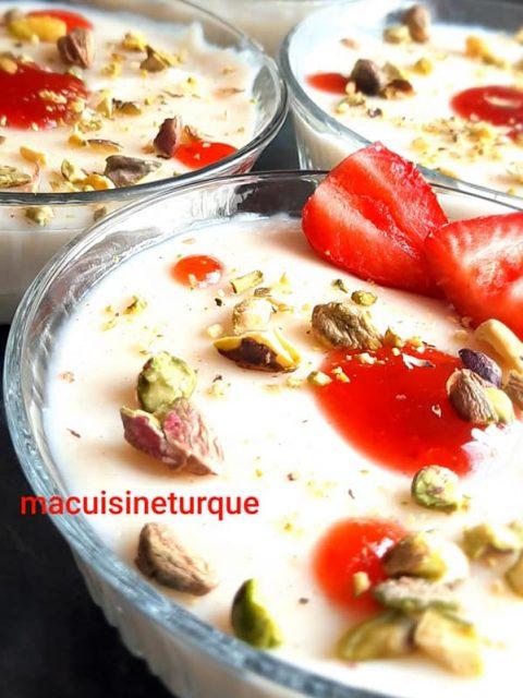 dessert turc au four : kadaif aux noix