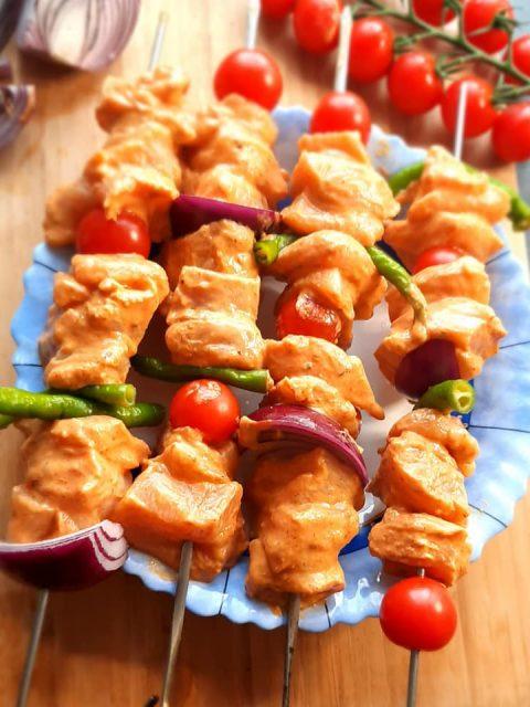 Kaygana :crêpe salée aux oignons