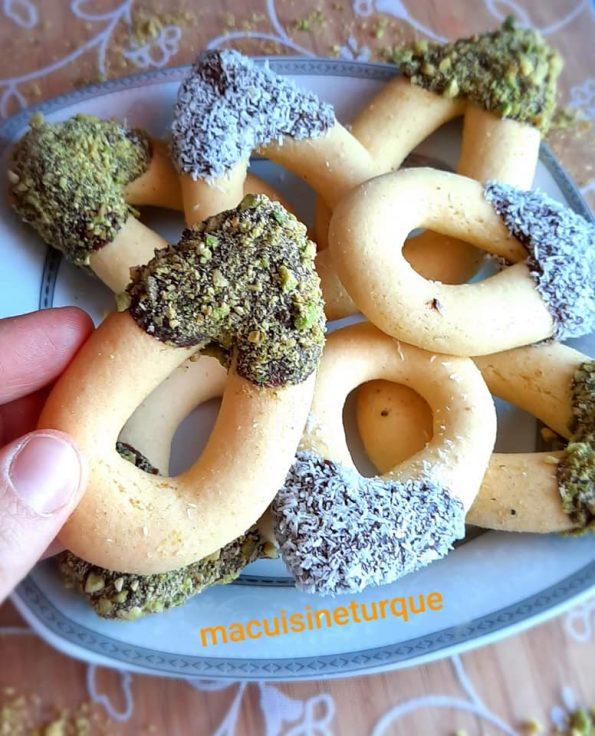 biscuits pâtissiers turcs pastane kurabiye