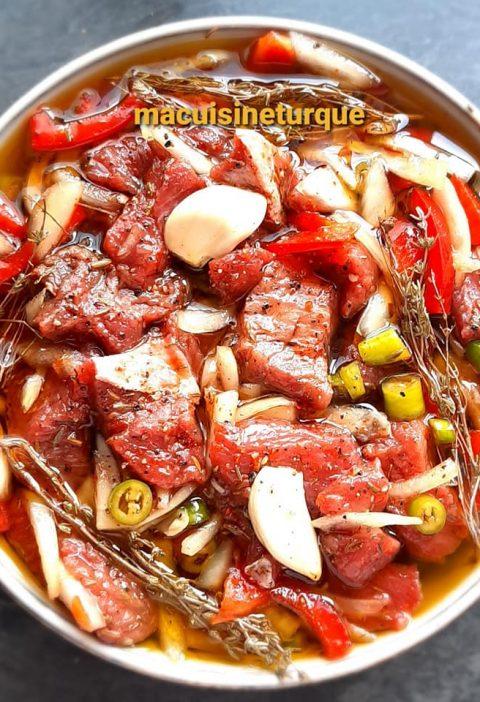 marinade pour viande rouge
