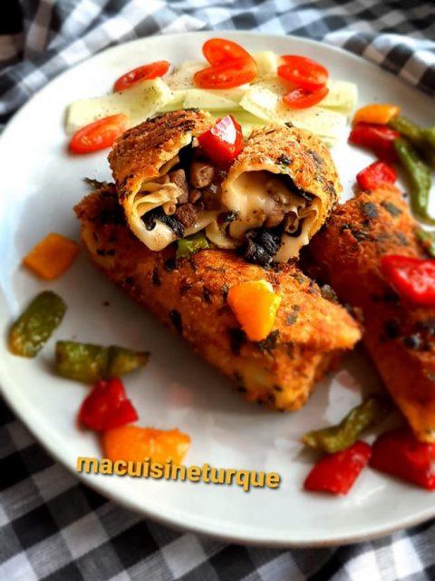 Biscuits sablés turcs boules de glace (dondurma kurabiyesi)